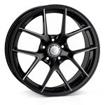 18x8.0 5-112 ET45 Cades Shift Black Accent