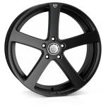 Cades Apollo wheels 19 x 8.5J 5-112 | Matt Black crest Set of four