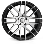 Cades Artemis wheels 19 x 8.5J 5-112 | Black Polish Set of four