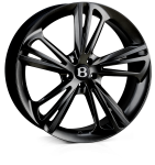 HAWKE Aquila wheels 22 inch 5-112 | Black (Quartz) - Set of four
