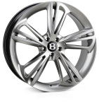 HAWKE Aquila wheels 22 inch 5-112 | Silver (Rhodium) - Set of four