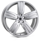 HAWKE Aria wheels 22 inch 5-120 | Silver - Set of four