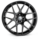 Cades Bern Accent wheels 20 x 8.5J 5-120 | Black Accent Set of four