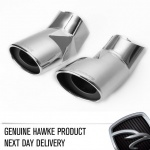 HAWKE Chrome Exhaust Tips for Range Rover Sport, Vogue and New L405