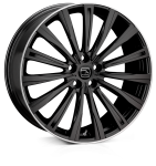 20x8.5 5-120 ET48 HAWKE Chayton Black Lip Polish