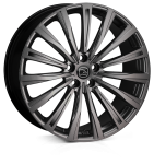 HAWKE Chayton wheels 22 inch 5-112 | Matt Black - Set of four