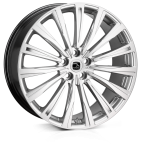 20x8.5 5-108 ET45 HAWKE Chayton High Power Silver
