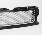 AUTOBIOGRAPHY LOOK FRONT GRILLE BLACK WITH SILVER MESH FOR DISCOVERY 3