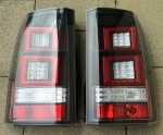 HAWKE LED Rear Tail Lights Clear Land Rover Discovery 3 & 4