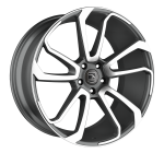 HAWKE Falkon wheels 22 inch 5-120 | Gunmetal Polished - Set of four