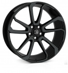 HAWKE Falkon wheels 22 inch 5-120 | Jet Black - Set of four