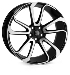 HAWKE Falkon wheels 22 inch 5-120 | Black Polished - Set of four