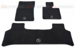HAWKE Black Carpet Mat set for Range Rover Vogue 2002-2013
