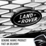 LAND ROVER Badge and Black Tailored Surround to fit HST Style Grille for Range Rover Sport 2005-2009