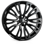 HAWKE Halcyon wheels 22 inch 5-120 | Black - Set of four