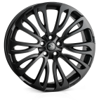 HAWKE Halcyon wheels 22 inch 5-120 | Matt Black - Set of four