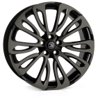 HAWKE Halcyon wheels 22 inch 5-120 | Black Shadow - Set of four