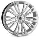HAWKE Halcyon wheels 22 inch 5-108 | Silver - Set of four