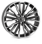HAWKE Harrier wheels 20 inch 5-108 | Gunmetal polished - Set of four