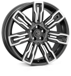 HAWKE Hermes wheels 22 inch 5-120 | Gunmetal  Polish - Set of four
