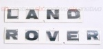 LAND ROVER Chrome Bonnet or Boot/Tailgate Letters