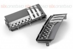 AUTOBIOGRAPHY Style Side Vents Grey with Silver & Chrome Trim for Range Rover Vogue 2002-2013