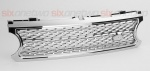 Supercharged Style Front Grille Chrome for Range Rover Vogue 2006-2009