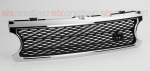 Supercharged Style Front Grille Chrome with Black for Range Rover Vogue 2006-2009