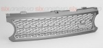Supercharged Style Front Grille Grey with Silver for Range Rover Vogue 2006-2009