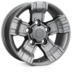 HAWKE Osprey wheels 18 inch 5-165 | Matt Gunmetal - Set of four