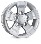 HAWKE Osprey wheels 18 inch 5-165 | Silver - Set of four