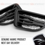 HAWKE Saker Side Vents Black with Silver Range Rover Sport 2005 - 2009