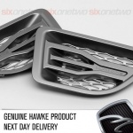 HAWKE Saker Side Vents Grey with Silver Range Rover Sport 2005 - 2009