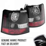 HAWKE LED Clear Rear Tail Lights Range Rover Sport 2005-2010