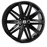 SSR SSR II wheels 21 inch 5-112 | Black - Set of four
