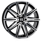SSR SSR II wheels 21 inch 5-112 | Black Polish - Set of four