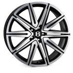 SSR SSR II wheels 21 inch 5-112 | Matt Black Polish - Set of four