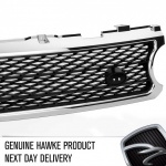 HAWKE Grille Range Rover Vogue Supercharged 2006 - 2010 Chrome / Matt Black