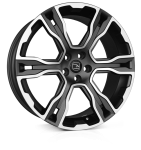 HAWKE Spirit wheels 22 inch 5-120 | Matt Black Polish - Set of four