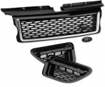 HAWKE AB Styling Bundle Grille Range Rover Sport 05-10 Black Autobiography