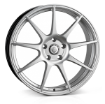 Cades Tora wheels 18 x 8J 5-120 | Silver Set of four