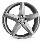 Cades Titan wheels 19 x 8.5J 5-112 | Matt Gunmetal Set of four