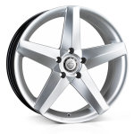 Cades Titan wheels 20 x 8.5J 5-120 | Silver Set of four