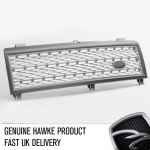 HAWKE Supercharged Grille L322 Range Rover 2002 - 2006 Grey -
