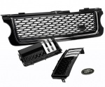 AUTOBIOGRAPHY Style Front Grille Black with Black & Chrome trim for Range Rover Vogue 2010-2013