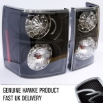 HAWKE LED Rear Lamps Lights Clear Range Rover Vogue 2002-2010