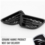 HAWKE Saker Side Vents Matt Black with Black Range Rover Sport 2005 - 2009