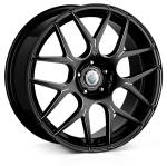 Cades Bern Accent wheels 18 x 8J 5-100 | Black Accent Set of four