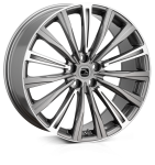 20x8.5 5-120 ET48 HAWKE Chayton Gunmetal Highlighted