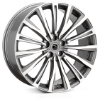 HAWKE Chayton wheels 22 inch 5-120 | Gunmetal  Polish - Set of four